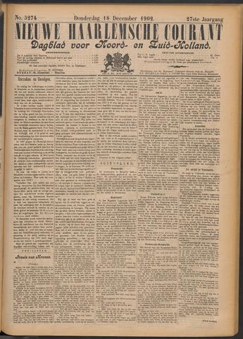 Nieuwe Haarlemsche Courant 1902-12-18