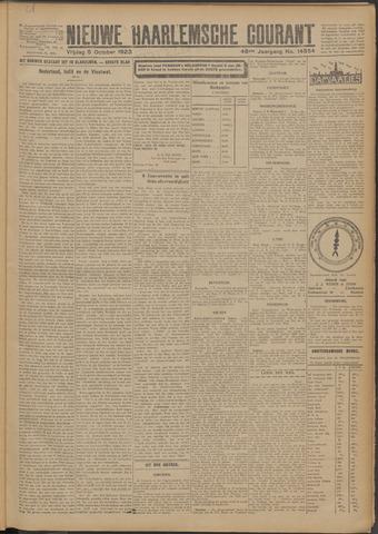 Nieuwe Haarlemsche Courant 1923-10-05