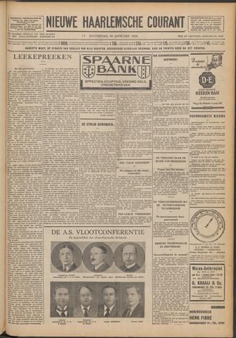 Nieuwe Haarlemsche Courant 1930-01-18