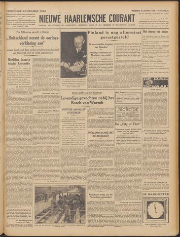 Nieuwe Haarlemsche Courant 1939-10-25