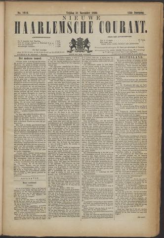 Nieuwe Haarlemsche Courant 1890-11-21