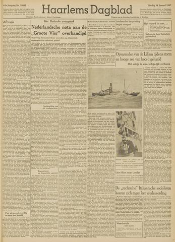 Haarlem's Dagblad 1947-01-14