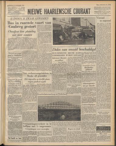 Nieuwe Haarlemsche Courant 1954-09-30