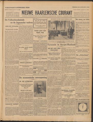 Nieuwe Haarlemsche Courant 1933-01-20