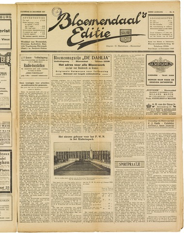 Bloemendaal's Editie 1927-12-10