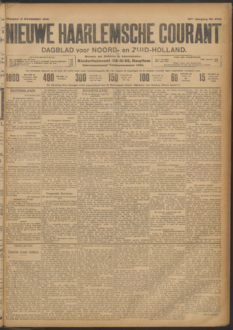 Nieuwe Haarlemsche Courant 1908-11-13