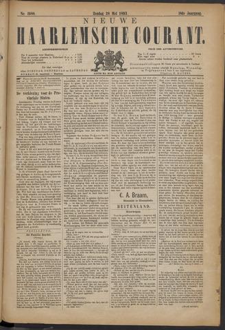 Nieuwe Haarlemsche Courant 1893-05-28