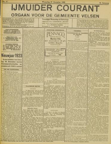 IJmuider Courant 1922-12-27