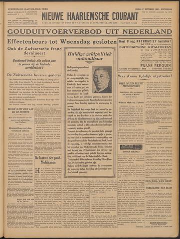 Nieuwe Haarlemsche Courant 1936-09-27