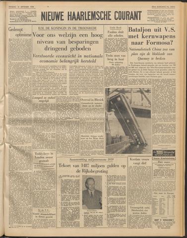 Nieuwe Haarlemsche Courant 1958-09-16