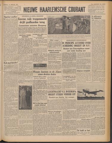 Nieuwe Haarlemsche Courant 1951-02-13