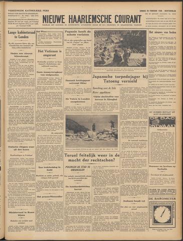 Nieuwe Haarlemsche Courant 1938-02-20