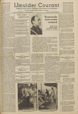 IJmuider Courant 1939-09-22
