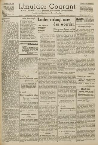 IJmuider Courant 1939-10-07
