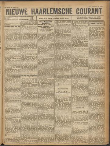 Nieuwe Haarlemsche Courant 1921-04-30