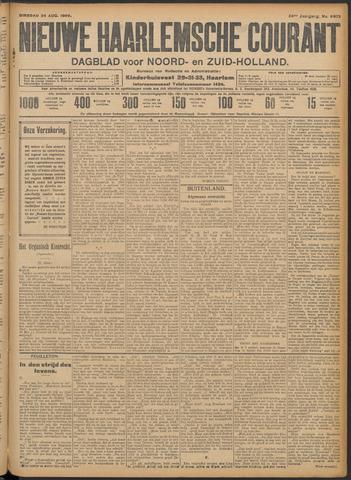 Nieuwe Haarlemsche Courant 1909-08-24