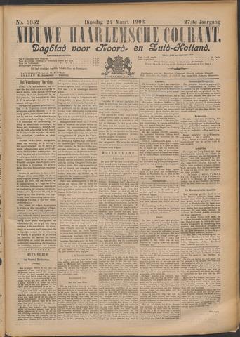 Nieuwe Haarlemsche Courant 1903-03-24