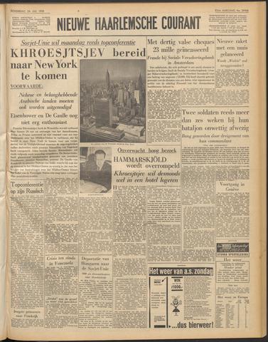 Nieuwe Haarlemsche Courant 1958-07-24