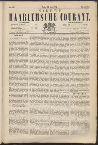 Nieuwe Haarlemsche Courant 1884-06-22