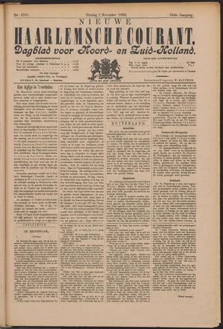 Nieuwe Haarlemsche Courant 1899-11-07