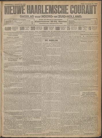 Nieuwe Haarlemsche Courant 1915-08-05