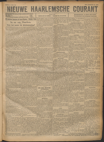 Nieuwe Haarlemsche Courant 1921-07-05