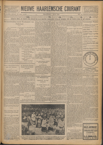 Nieuwe Haarlemsche Courant 1929-07-01