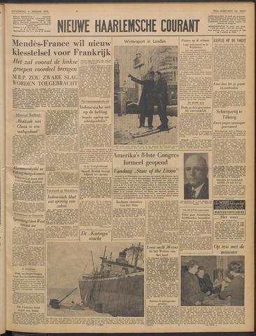 Nieuwe Haarlemsche Courant 1955-01-06
