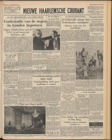 Nieuwe Haarlemsche Courant 1954-09-28