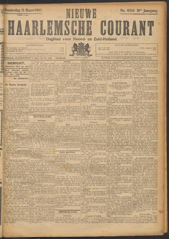 Nieuwe Haarlemsche Courant 1907-03-21