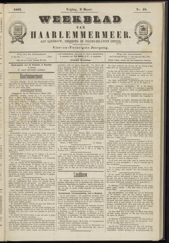 Weekblad van Haarlemmermeer 1883-03-09