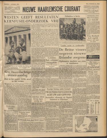 Nieuwe Haarlemsche Courant 1958-09-01