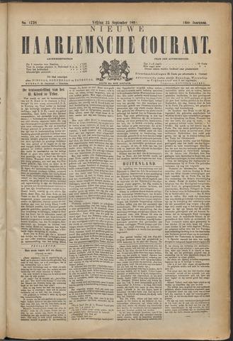 Nieuwe Haarlemsche Courant 1891-09-25