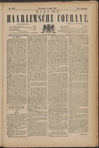 Nieuwe Haarlemsche Courant 1890-03-12