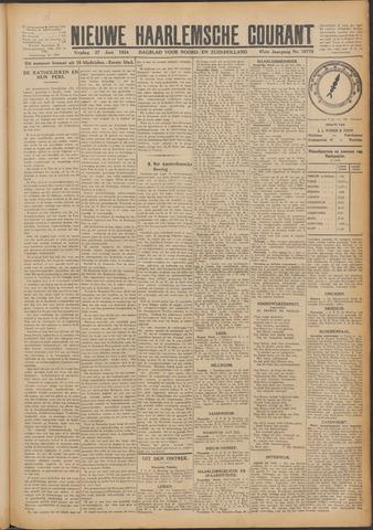 Nieuwe Haarlemsche Courant 1924-06-27
