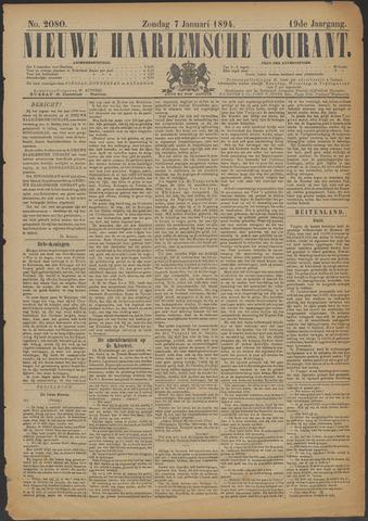 Nieuwe Haarlemsche Courant 1894-01-07
