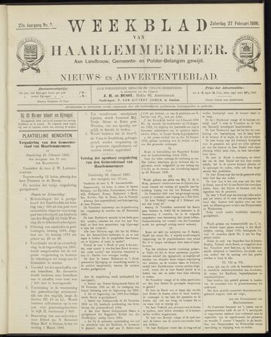 Weekblad van Haarlemmermeer 1886-02-27