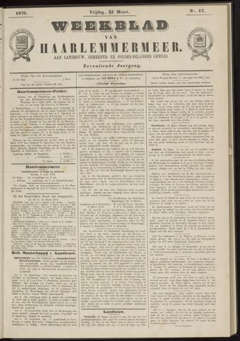 Weekblad van Haarlemmermeer 1876-03-31