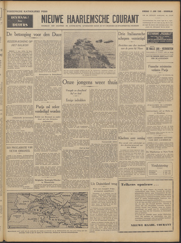 Nieuwe Haarlemsche Courant 1940-06-11