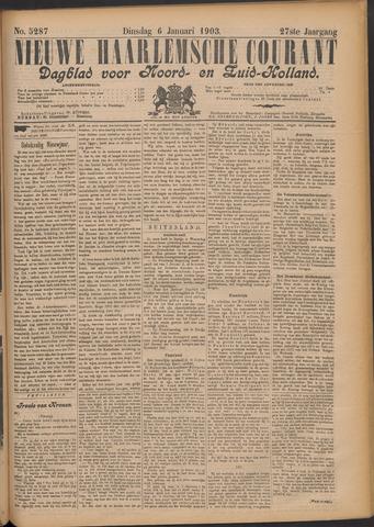 Nieuwe Haarlemsche Courant 1903-01-06