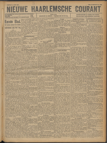 Nieuwe Haarlemsche Courant 1921-06-14