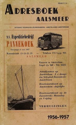 Adresboeken Aalsmeer 1956