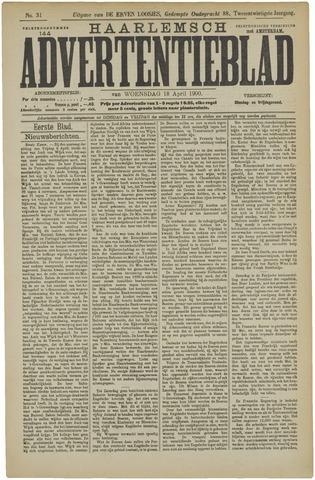 Haarlemsch Advertentieblad 1900-04-18