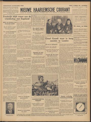 Nieuwe Haarlemsche Courant 1938-02-27
