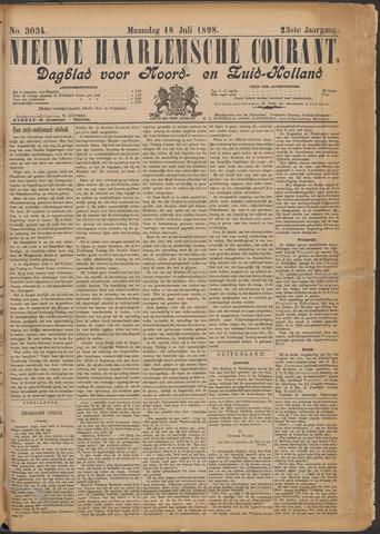 Nieuwe Haarlemsche Courant 1898-07-18