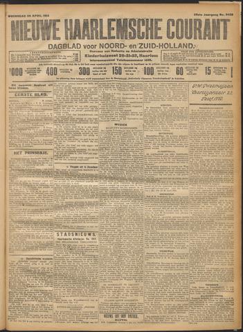 Nieuwe Haarlemsche Courant 1914-04-29