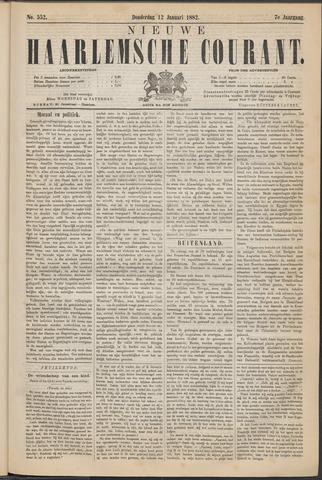 Nieuwe Haarlemsche Courant 1882-01-12