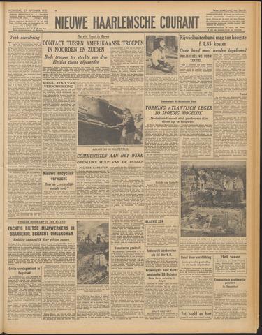 Nieuwe Haarlemsche Courant 1950-09-27
