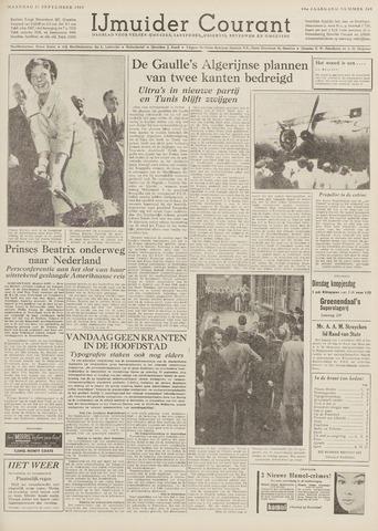 IJmuider Courant 1959-09-21