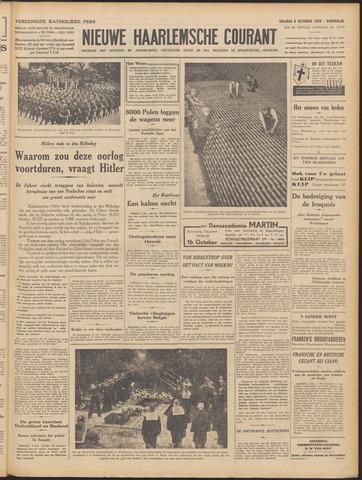 Nieuwe Haarlemsche Courant 1939-10-06